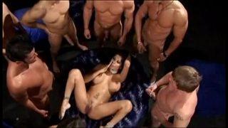 Blowbang Sex-Erlebnis Alexis Amore